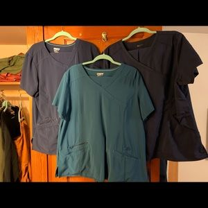 3 pair XL Scrubstar Performance scrubs
